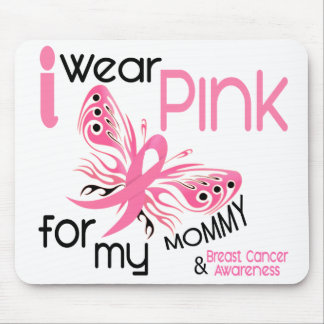 Breast Cancer I WEAR PINK FOR MY MOMMY 45 Mouse Pad