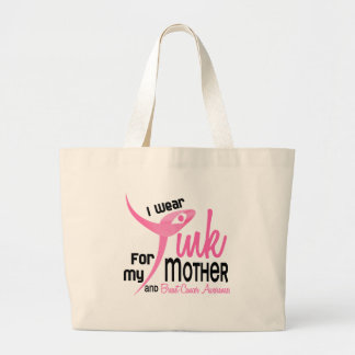 BREAST CANCER I Wear Pink For My Mother 41 Canvas Bags