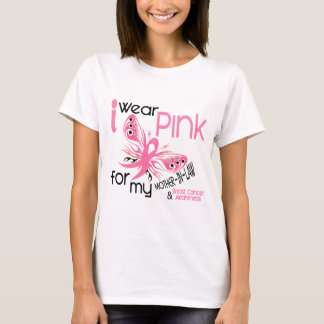 Breast Cancer I WEAR PINK FOR MY MOTHER-IN-LAW 45 T-Shirt