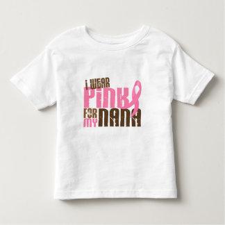 Breast Cancer I WEAR PINK FOR MY NANA 6.3 Tees