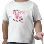 Breast Cancer I WEAR PINK FOR MY SISTER 45 Tshirt