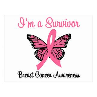 Breast Cancer I'm a Survivor Postcards