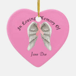 Breast Cancer Ornaments & Keepsake Ornaments | Zazzle