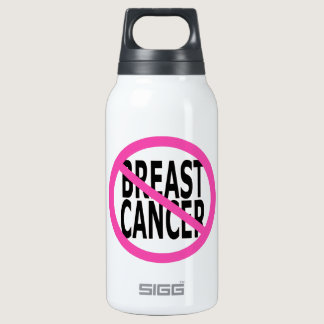 BREAST CANCER INSULATED WATER BOTTLE