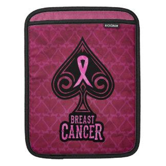 Breast Cancer - iPad Sleeve - Spades Edition