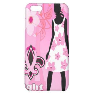 Breast Cancer iPhone 4 Case - Fleur de lis