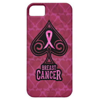 Breast Cancer - iPhone 5 Case - Spades Edition