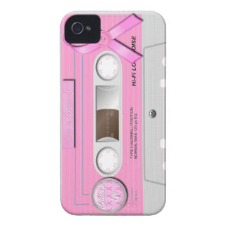 Breast cancer Iphone cassette case iPhone 4 Cover