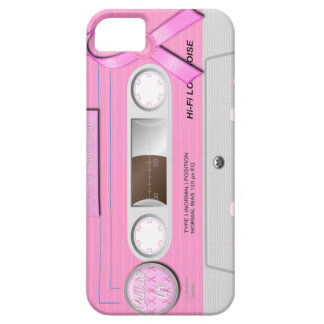 Breast cancer Iphone cassette case iPhone 5 Cases