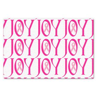 "Breast Cancer Joy 10"" X 15"" Tissue Paper"