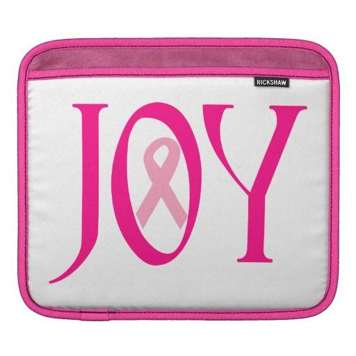 Breast Cancer Joy iPad Sleeve