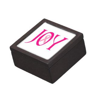 Breast Cancer Joy Keepsake Box