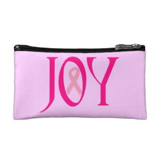 Breast Cancer Joy Makeup Bag