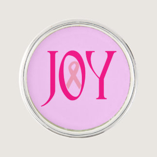 Breast Cancer Joy Pin