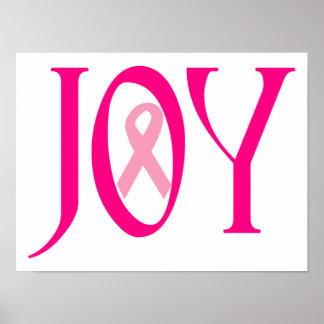 Breast Cancer Joy Poster
