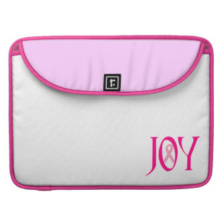 Breast Cancer Joy Sleeve For MacBooks