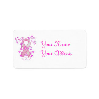 breast cancer label