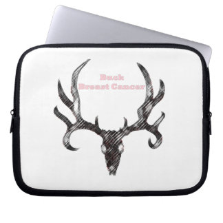 Breast Cancer Laptop Sleeve
