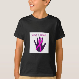 Breast Cancer - Lend a Hand T-Shirt