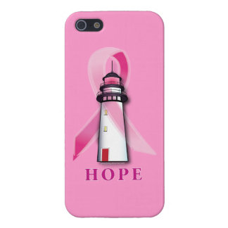 Breast Cancer: Lighthouse of Hope Cover For iPhone SE/5/5s
