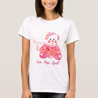Breast Cancer Love Hope T Shirts