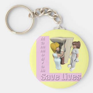 Breast Cancer Mammogram Key Chains