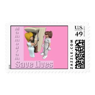 Breast Cancer Mammogram Postage