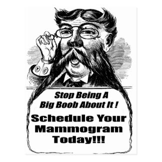 Breast Cancer Mammograms Post Card
