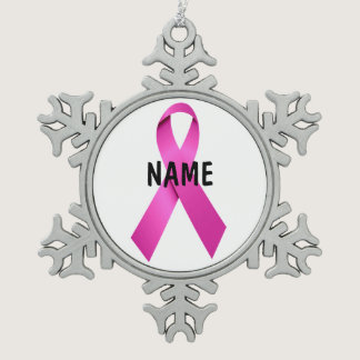 Breast Cancer Memorial Ornament
