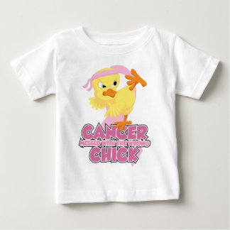 Breast Cancer Messed With The Wrong Chick Baby T-Shirt