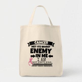 Breast Cancer Met Its Worst Enemy in Me Tote Bag