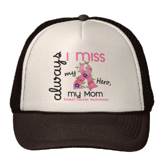 Breast Cancer Miss My Mom 3 Trucker Hat