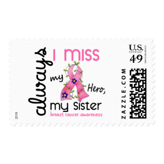 Breast Cancer Miss My Sister 3 Postage