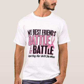 Breast Cancer My BATTLE TOO 1 Best Friend T-Shirt