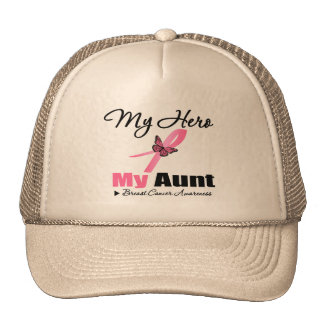 Breast Cancer My Hero My Aunt Hats