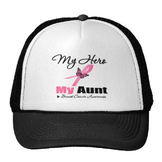 Breast Cancer My Hero My Aunt Hat