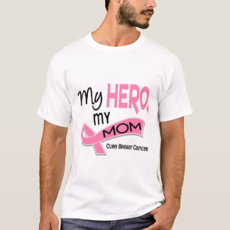 Breast Cancer MY HERO, MY MOM 42 T-Shirt
