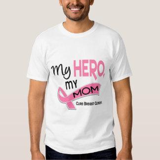Breast Cancer MY HERO, MY MOM 42 Tee Shirt