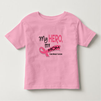 Breast Cancer MY HERO, MY MOM 42 Toddler T-shirt