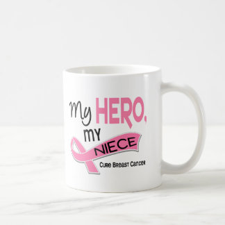 Breast Cancer MY HERO, MY NIECE 42 Coffee Mug
