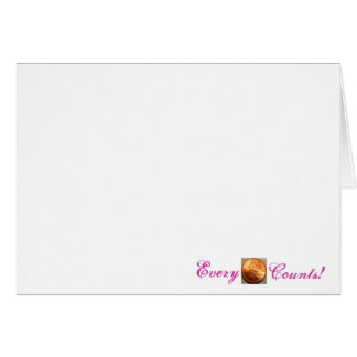 Breast Cancer Note cards