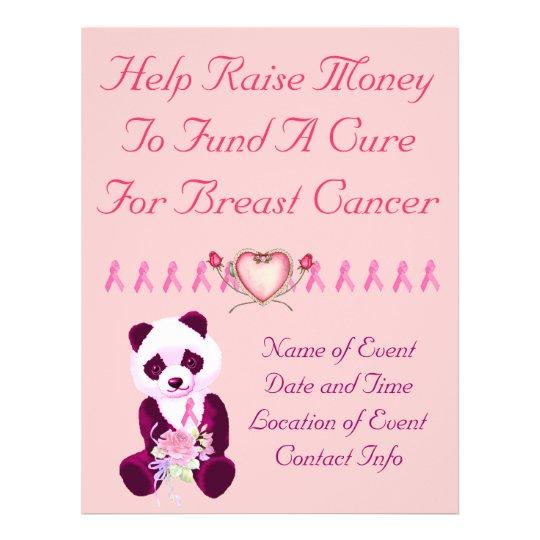 Breast Cancer Panda Bear Flyer