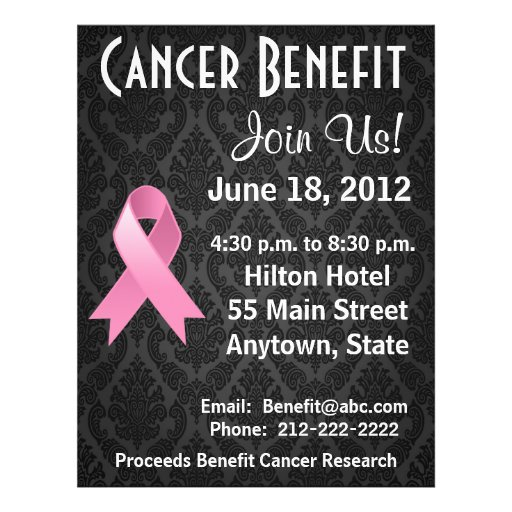 Breast Cancer Personalized Benefit Flyer