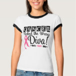 Breast Cancer Picked The Wrong Diva v2 T-Shirt
