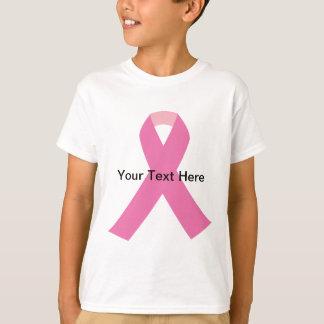breast cancer pink awareness ribbon T-Shirt