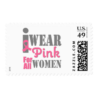 BREAST CANCER PINK RIBBON All Women Postage