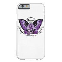 Breast Cancer Pink Ribbon Awareness Sister Mom Barely There iPhone 6 Case