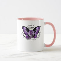 Breast Cancer Pink Ribbon Awareness Sister Mom Mug