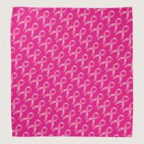 Breast Cancer Pink Ribbon Bandana