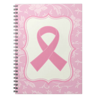Breast Cancer Pink Ribbon blessings Gift Notebook
